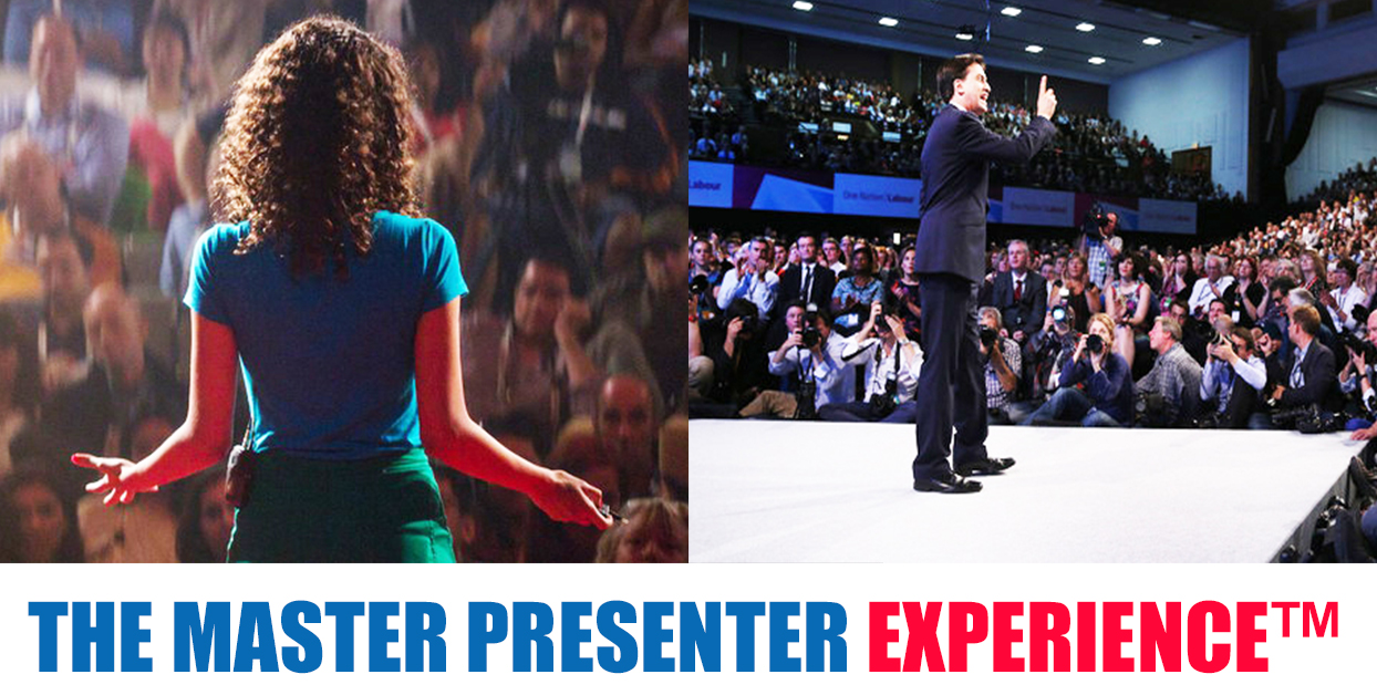 master presenter experience